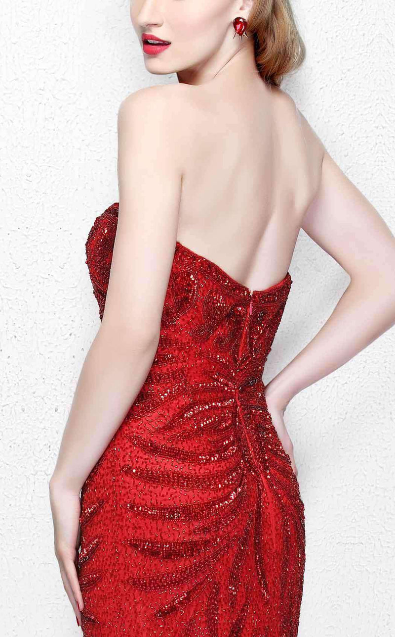 Primavera Couture 1837 Red