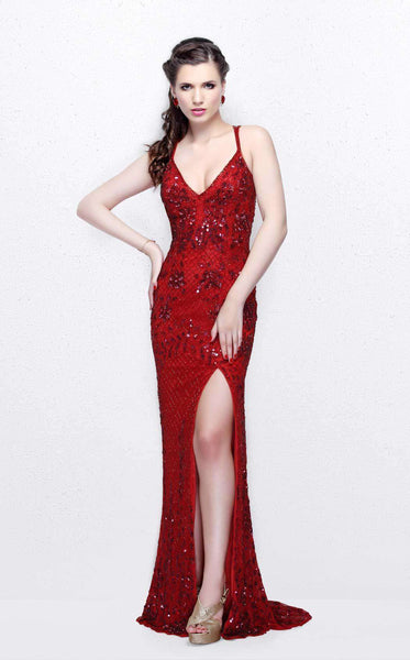 Primavera Couture 1844 Red