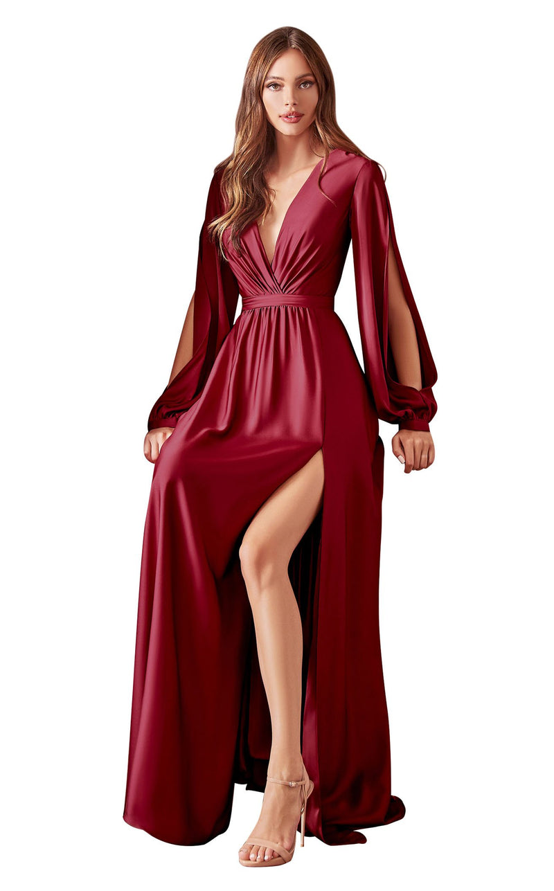 Cinderella Divine 7475 Dress Burgundy