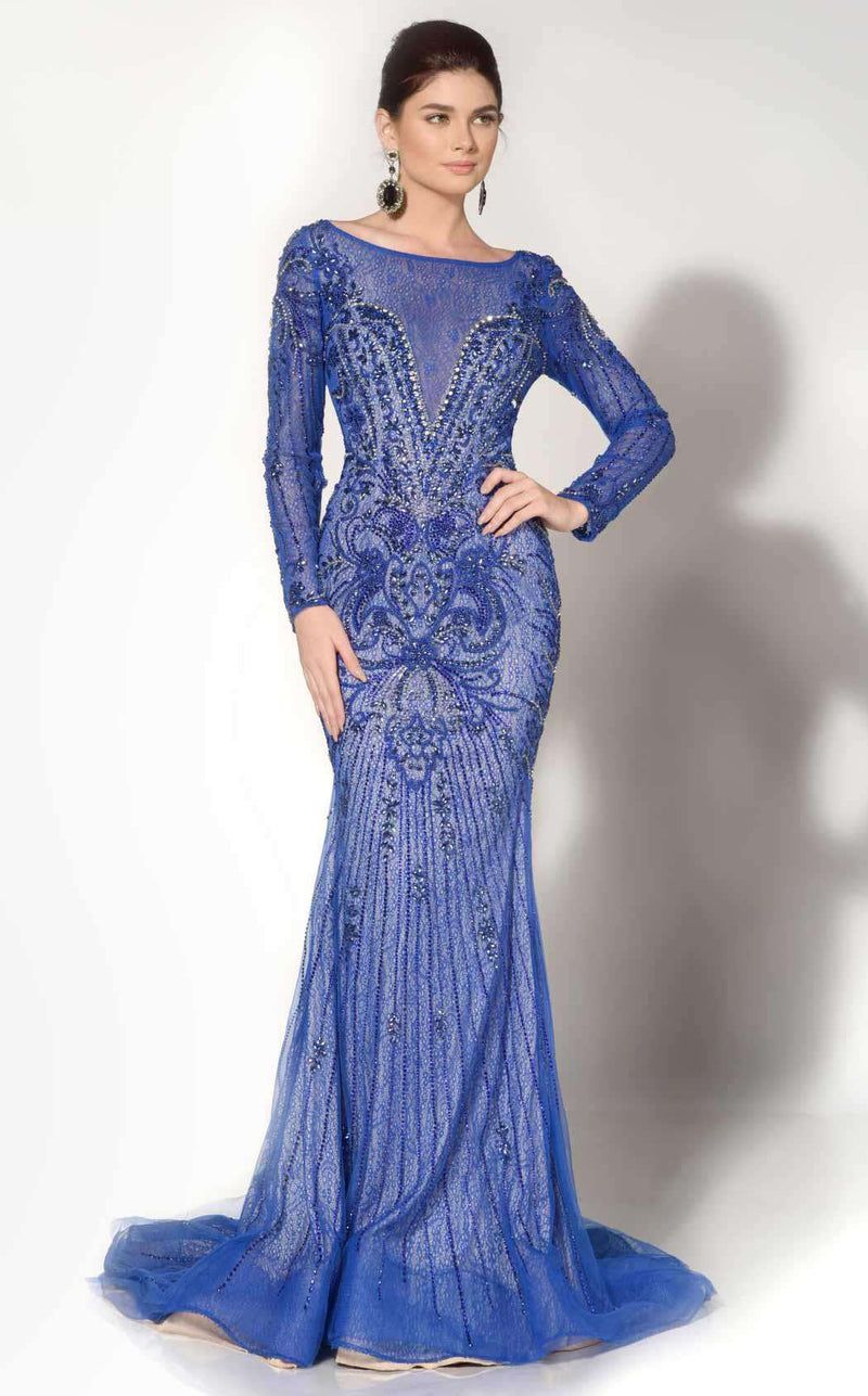 MNM Couture 10593 Blue
