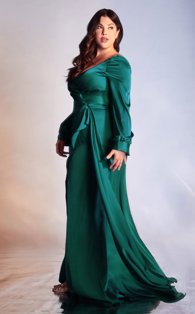 Cinderella Divine 7478C Dress Emerald