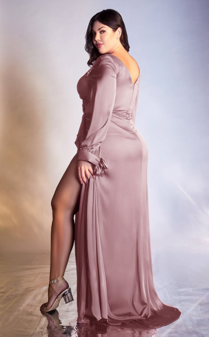 Cinderella Divine 7478C Dress Dark-Mauve