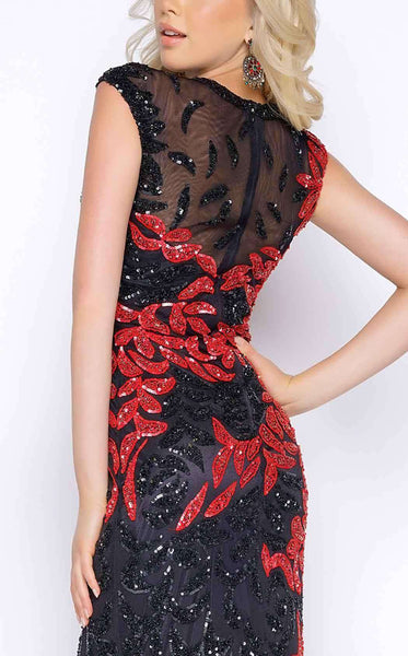 Cassandra Stone 4336 Black/Red