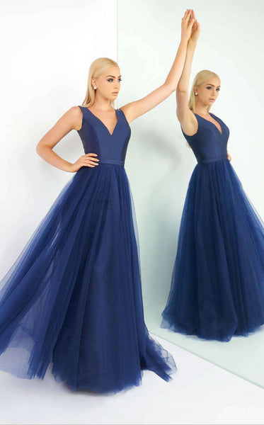 Mac Duggal 48564 Midnight Blue