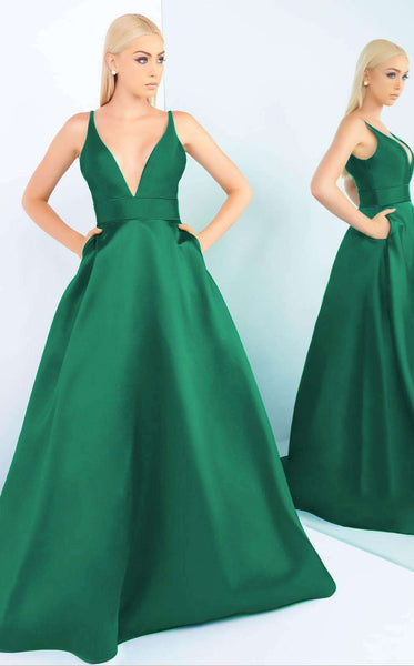 Mac Duggal 55010 Emerald Green
