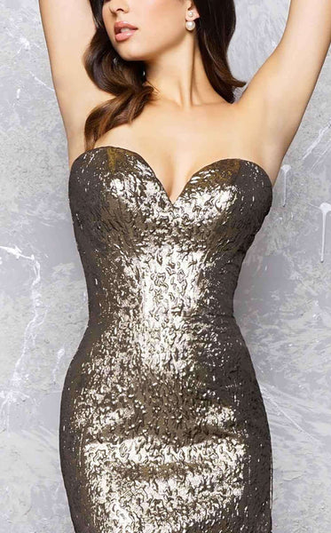 Mac Duggal 66025 Antique Gold
