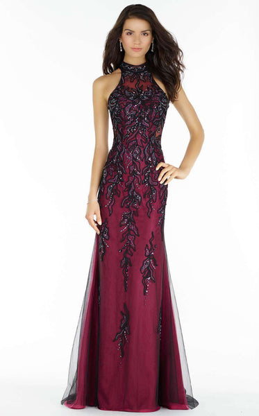 Alyce 6721 Black/Raspberry