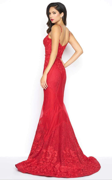 Mac Duggal 79082 Red