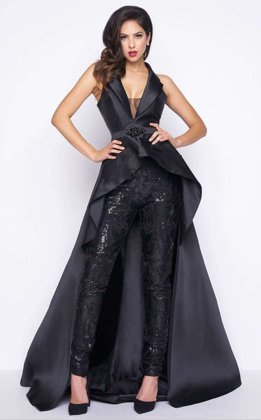 Mac Duggal 80628 Black