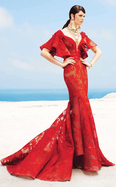 MNM Couture 2342 Red