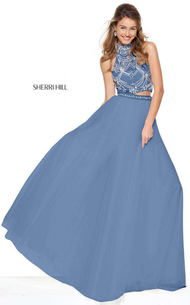 Sherri Hill 50704 Light Blue