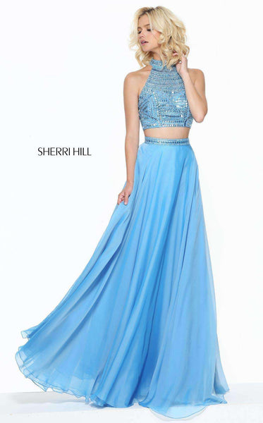 Sherri Hill 50809 Blue