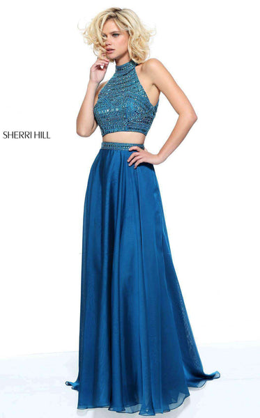 Sherri Hill 50809 Peacock