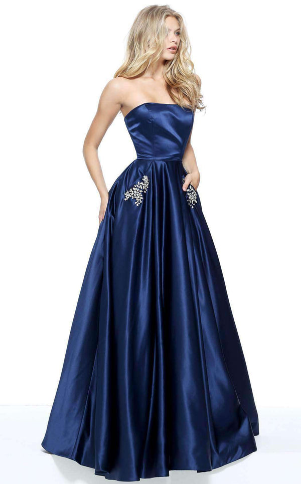 Sherri Hill 50812 Navy