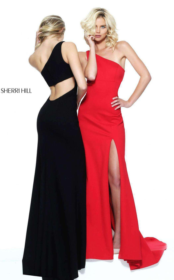 Sherri Hill 50861 Black