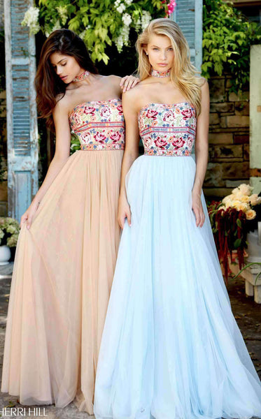 Sherri Hill 50873 Nude/Multi