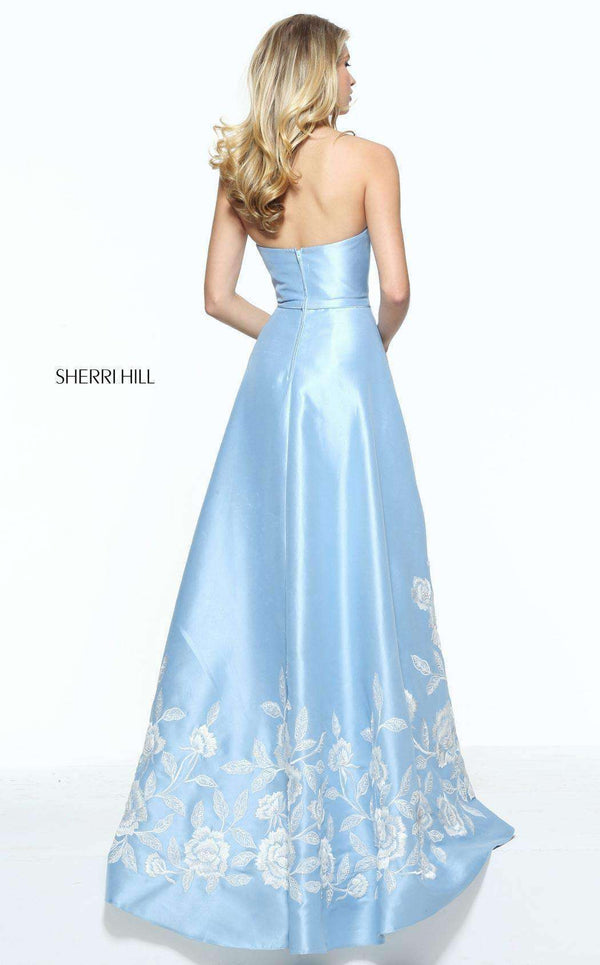 Sherri Hill 51038 Light Blue