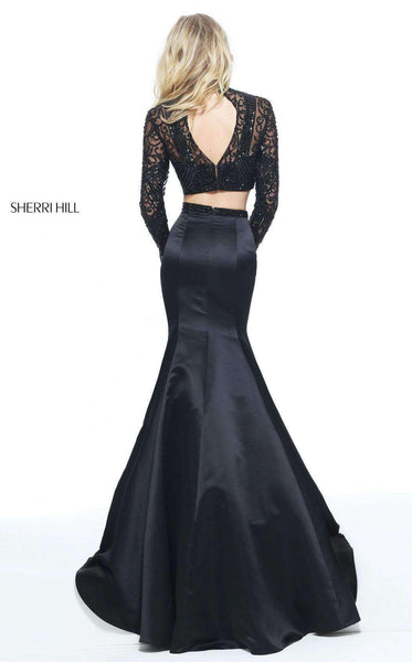 Sherri Hill 51107 Black