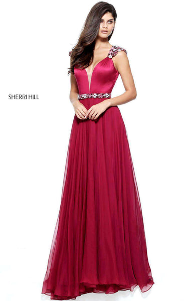 Sherri Hill 51137 Wine