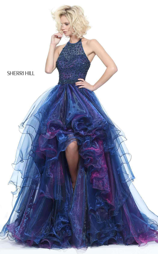 Sherri Hill 51140 Navy