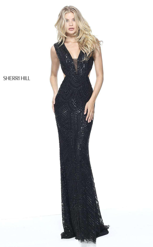 Sherri Hill 51245 Black