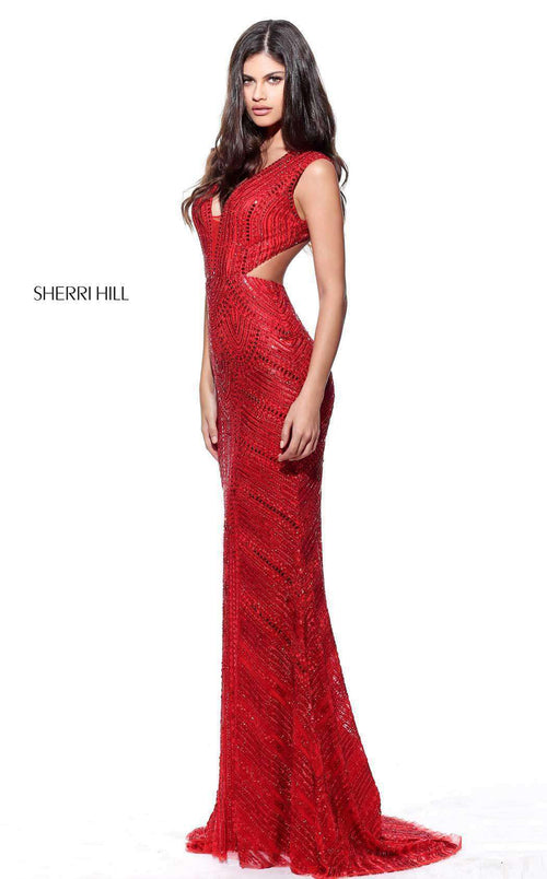 Sherri Hill 51245 Red
