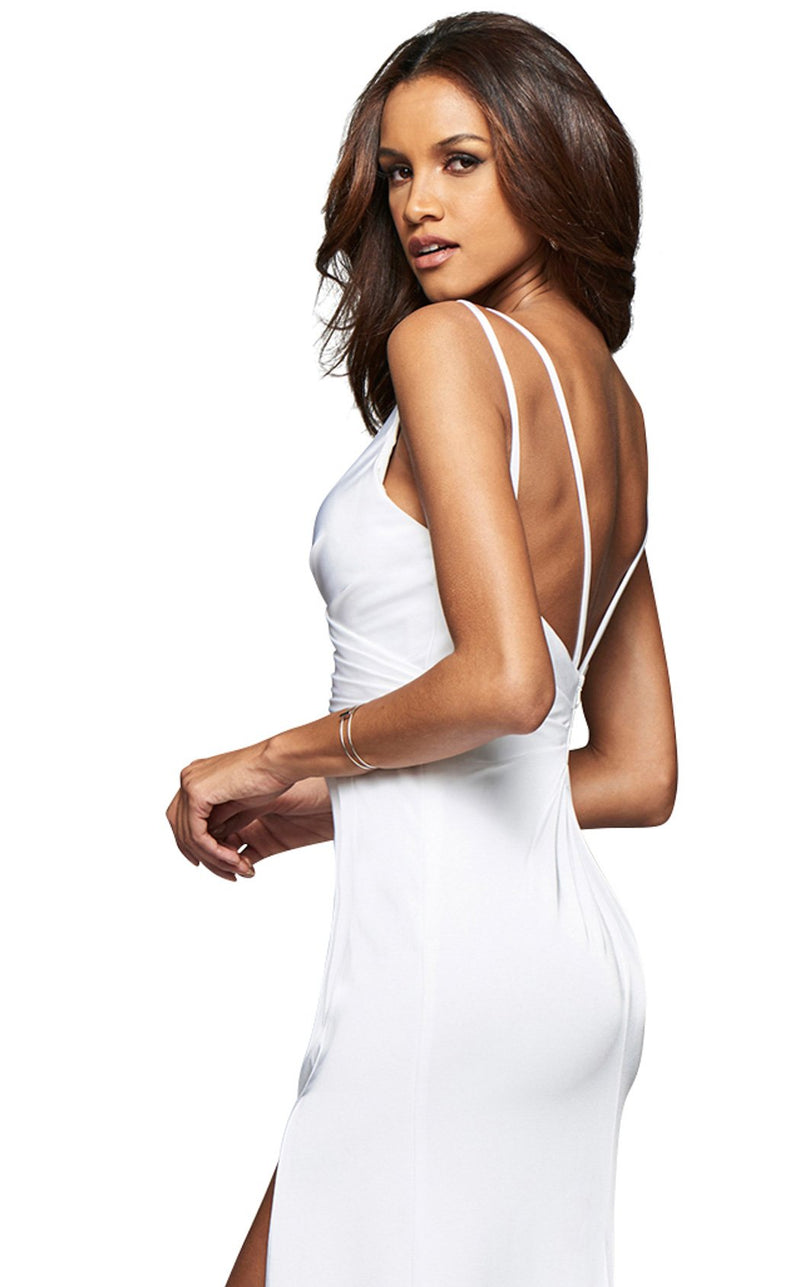 Faviana 7755E Dress Ivory