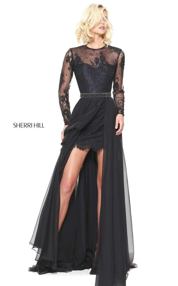 Sherri Hill 50949 Black