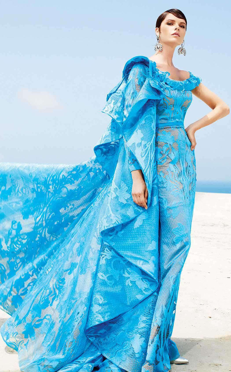 MNM Couture 2341 Turquoise