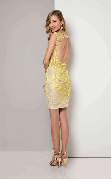 Terani 1713C3103 Pale Yellow/Nude