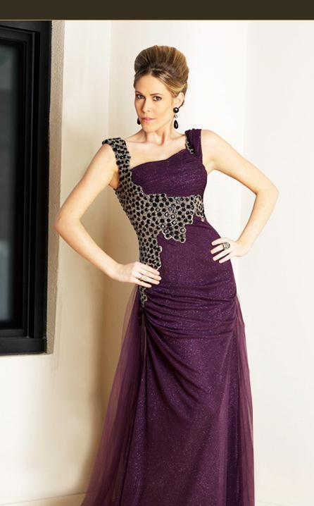 MNM Couture KH0954 Purple