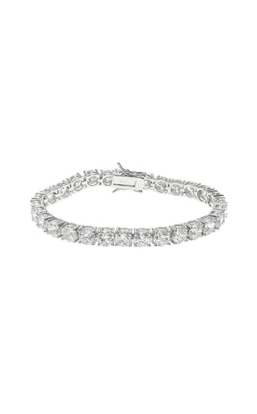 CZ by Kenneth Jay Lane KBR179 Clear/Silver