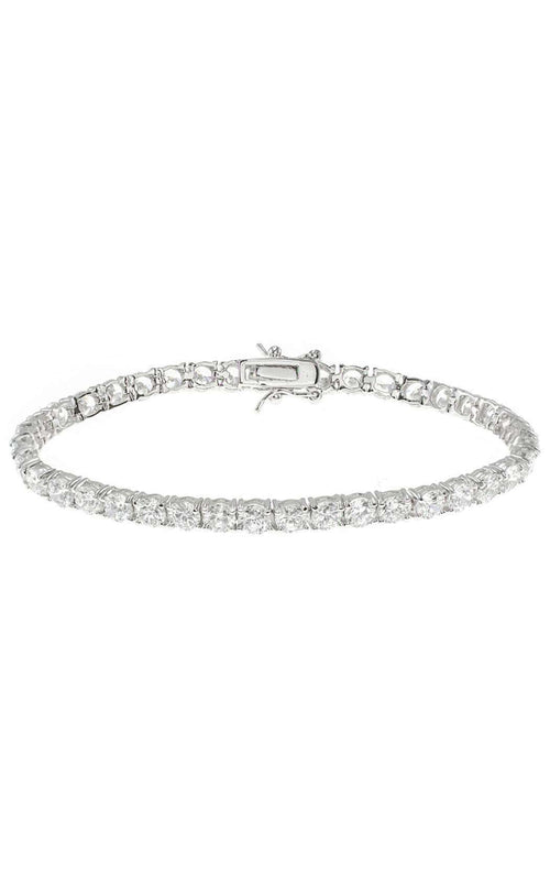CZ by Kenneth Jay Lane KBR601 Clear/Silver