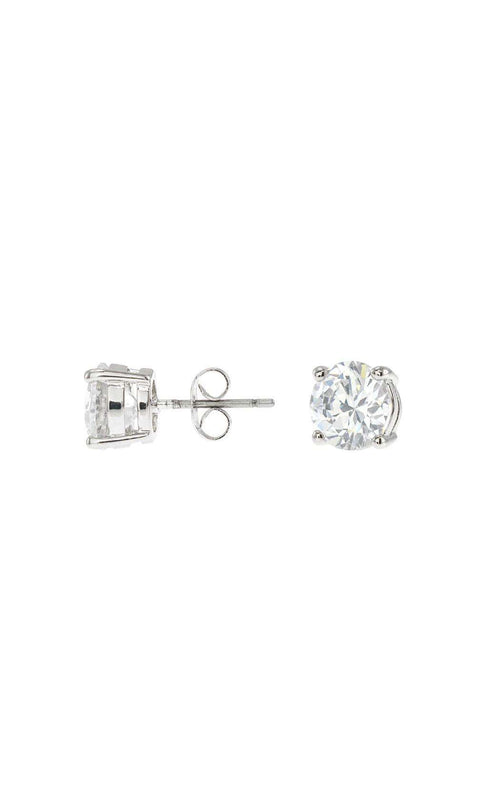 CZ by Kenneth Jay Lane KE010 Clear/Silver