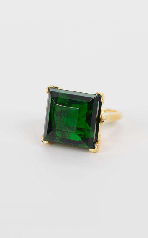 Kenneth Jay Lane 9045RPGE Emerald