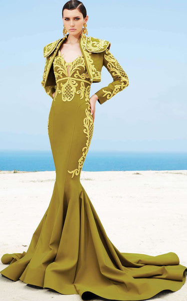 MNM Couture 2348 Olive/Gold