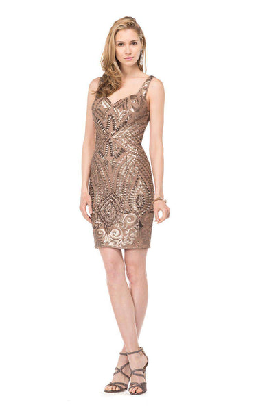 Colors Dress 1536 Taupe