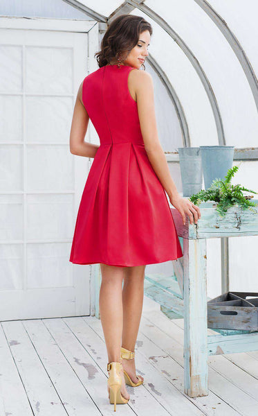 Colors Dress 1546 Red