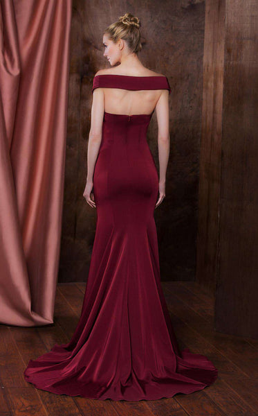 Colors Dress 1768 Wine