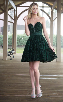 Colors Dress 1782 Forest