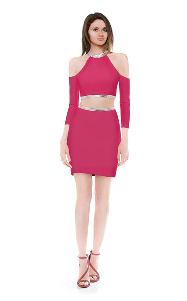 Colors Dress 1788 Fuchsia