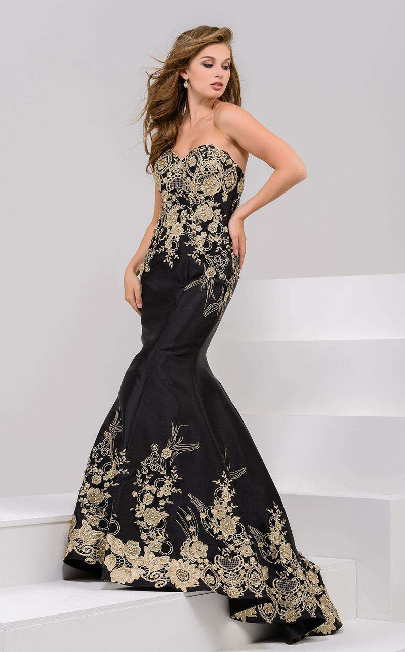 Jovani 31220 Black/Gold