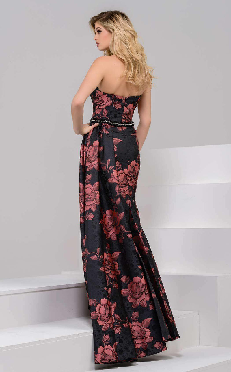 Jovani 40094 Black/Brown