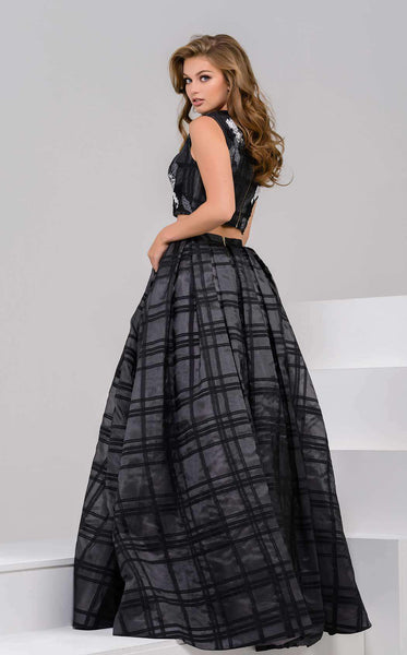 Jovani 40387 Black/White