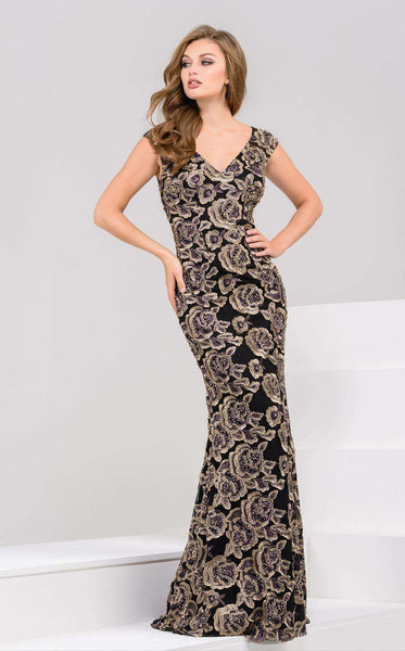 Jovani 50440 Black/Gold