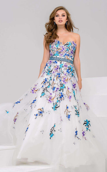 Jovani 50551 White/Multi