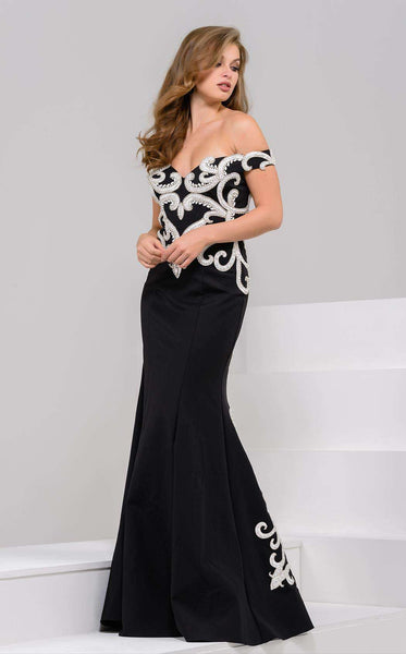 Jovani 51534 Black/White