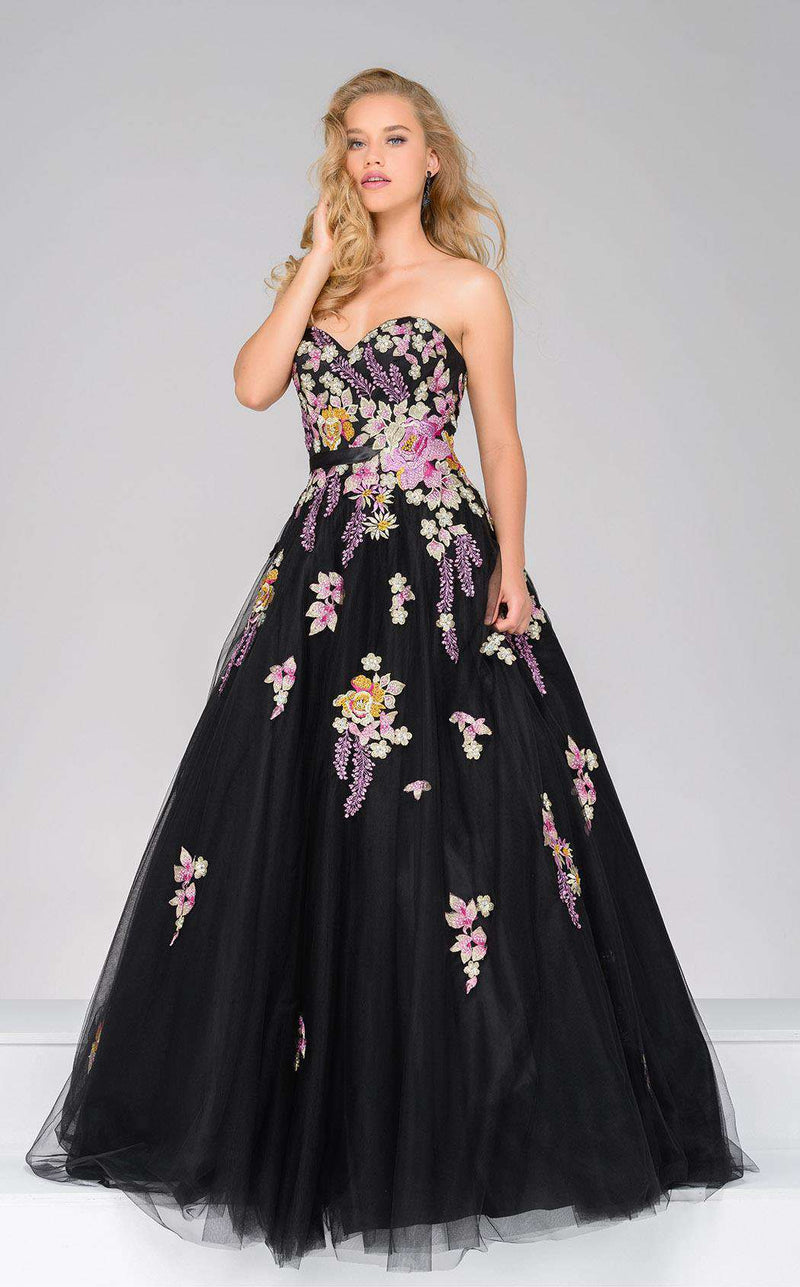 Jovani 49316 Black/Multi