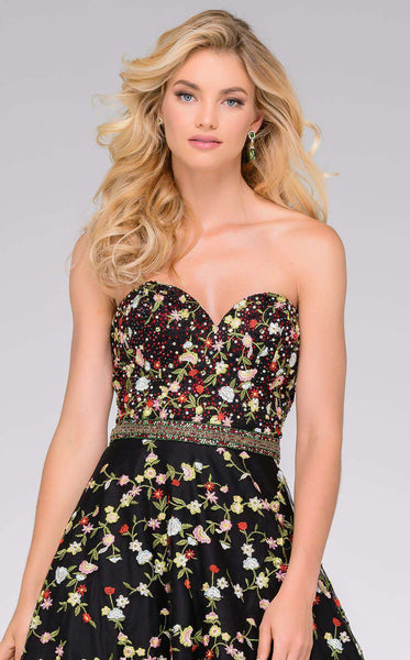 Jovani 47749 Black/Multi