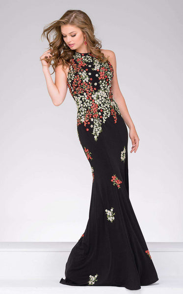 Jovani 48104 Black/Multi